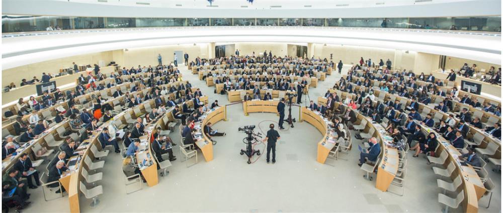 △联合国人权理事会(图片来自联合国)