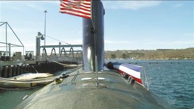 """""""科罗拉多""""号核潜艇。"""
