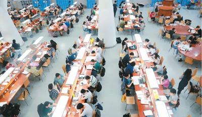 人民日報海外版:付費自習室悄然興起