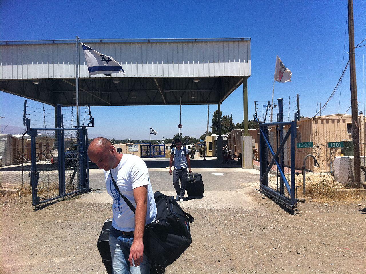 以色列一侧的库奈特拉过境点(图片来源:维基百科)