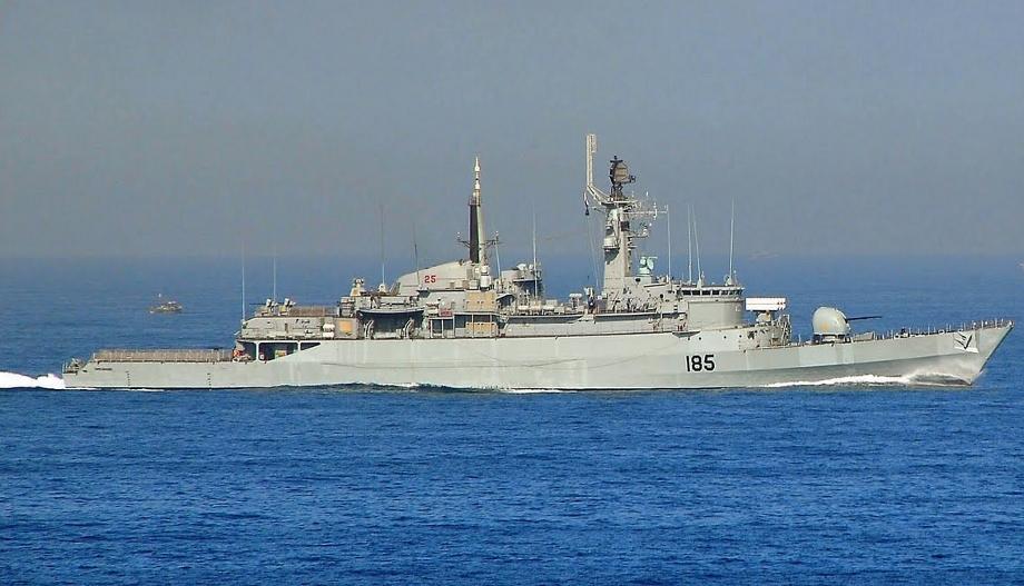 """巴基斯坦海军的""""塔里克""""级护卫舰已经主要老化"""