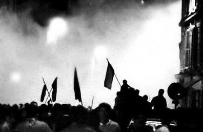 ▲1968年5月,法国街头。图片来自网络