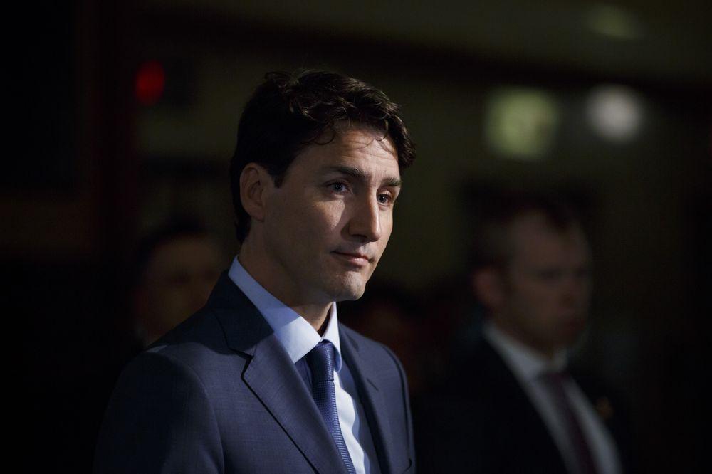 添拿大总理贾斯汀·特鲁众(Justin Pierre James Trudeau)图源:彭博