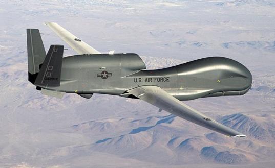 罕见 美国首次部署两架无人机在俄边境侦察飞行_意大利新闻_首页 - 意大利中文网