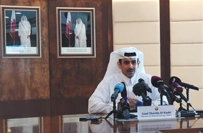 当地时间12月3日,卡塔尔多哈,卡塔尔能源大臣宣布卡塔尔将于下月脱离OPEC,已将此决定告知OPEC。图/视觉中国