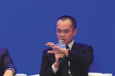 美团创起人兼CEO王兴。原料图片/新京报记者 侯少卿 摄