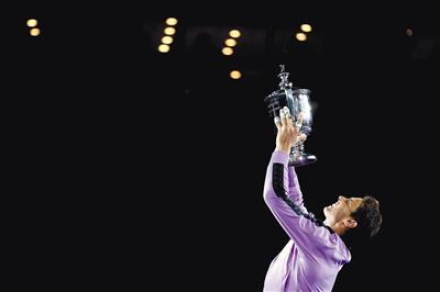 调整后的赛程,美网和法网只阻隔一周,去年美网冠军纳达尔必须做个取舍。图/视觉中国