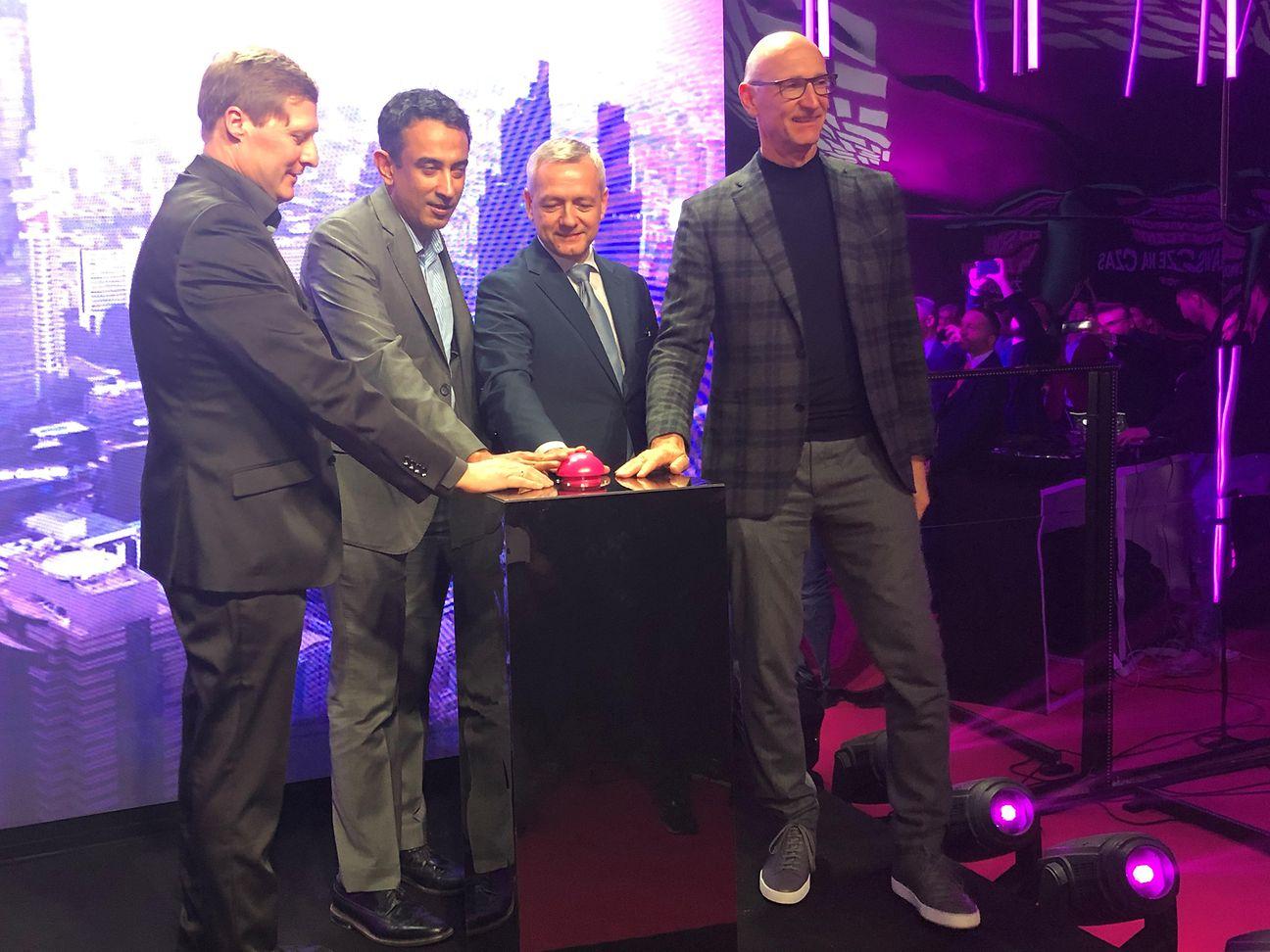 德国电信在华沙启动东欧首个5G网络,行使华为设备 图源:德国电信(Deutsche Telekom)