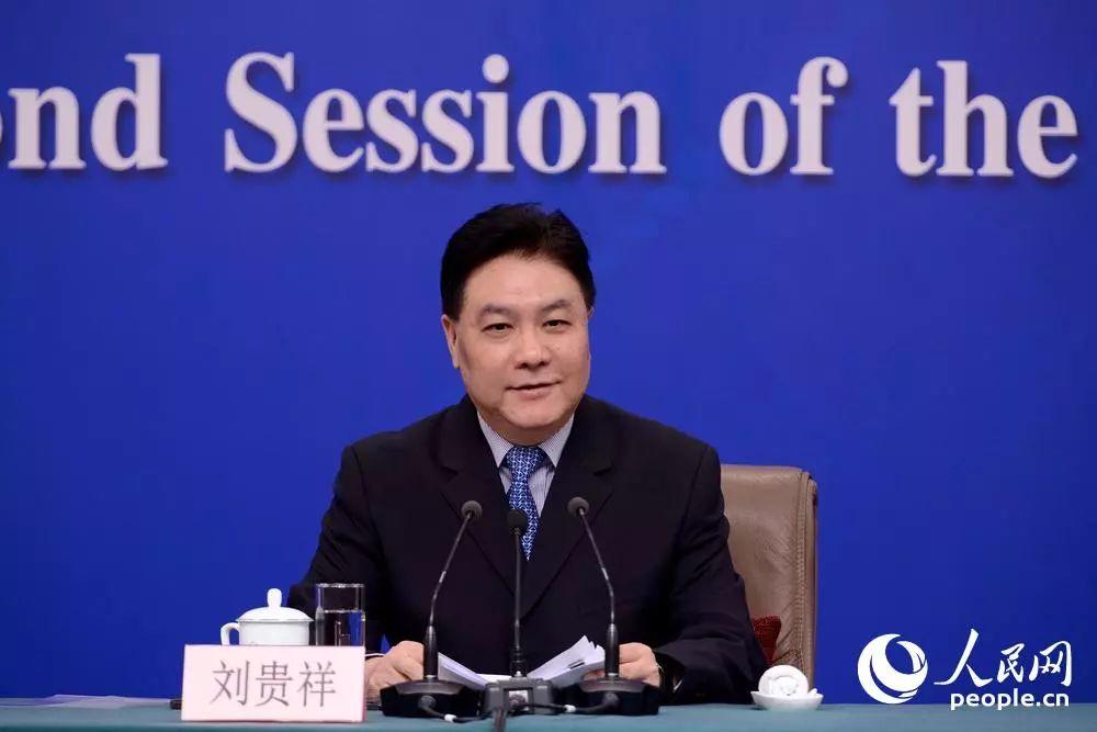 最高人民法院审判委员会副部级专职委员刘贵祥 张启川 摄