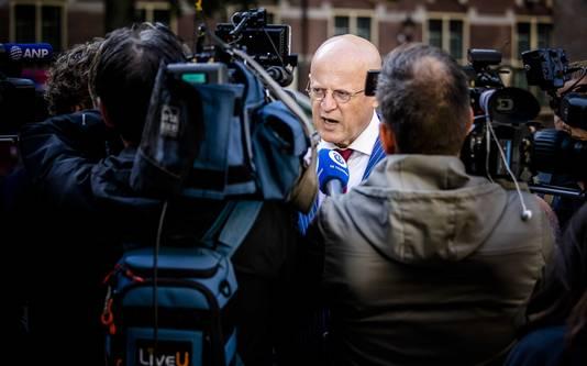 荷兰司法部长费尔德·格拉珀豪斯。(图源:荷兰一网)