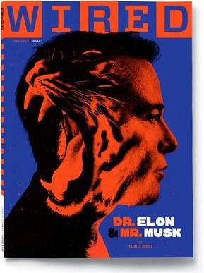 美国《连线》月刊2月号封面