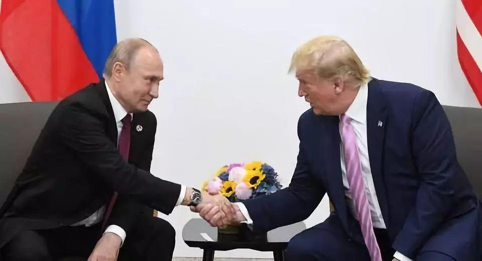 ▲俄总统普京与美总统特朗普。(图:卫星通讯社)