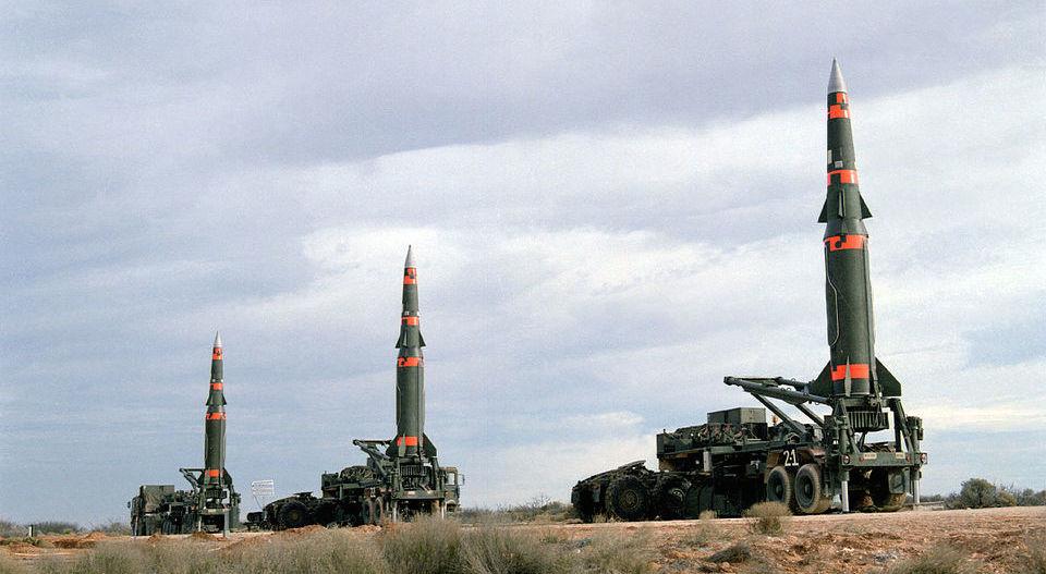 """""""潘兴II"""",被INF条约干掉的美国中程弹道导弹(美国防部 图)"""