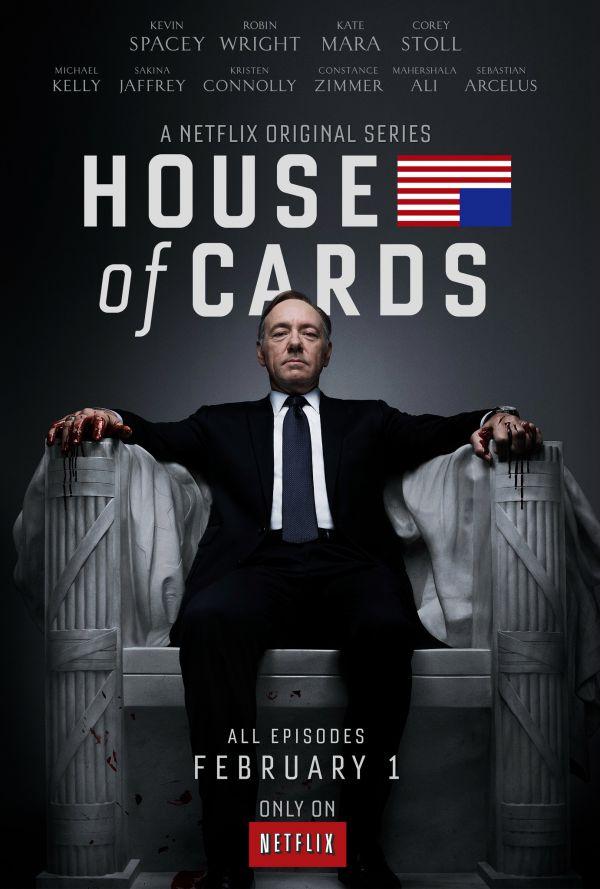 《纸牌屋》(第一季)剧照,凯文·史派西在剧中饰演弗兰克。