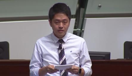 香港民主党立法会议员许智�o
