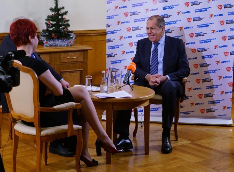 俄外长:不会主动向乌开战 但若受挑衅必将反击