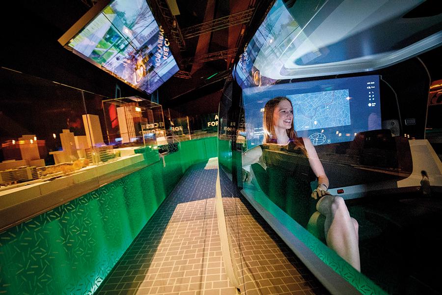 根据罗兰贝格的预测,到2030年,无人驾驶出租车的全球收入将高达1.5万亿欧元。图/视觉中国