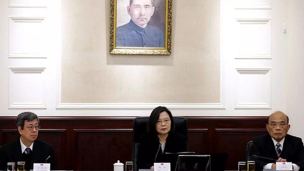 """蔡英文召开所谓的""""国家安全会议"""""""