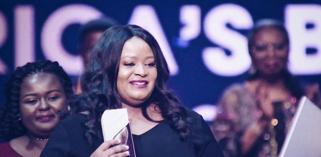 ▲尼日利亚女企业家Giwa-Tubosun摘得桂冠。图据ANPI官方推特