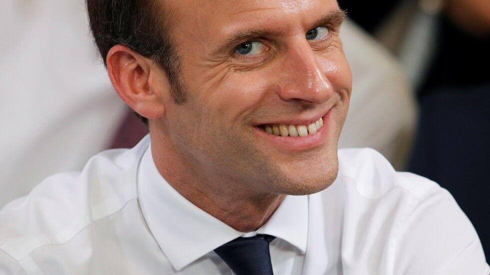 资料图:法国总统马克龙
