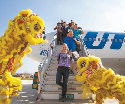六亚凤凰国际机场。