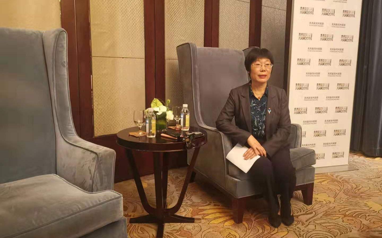 王小云在未来科学大奖周接受媒体采访。新京报记者 张璐 摄