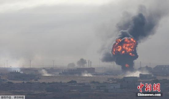 叙利亚政府军与土耳其军在叙北边境激烈交火