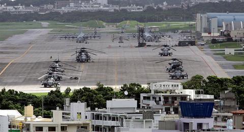 美军驻日本军事基地(俄罗斯卫星通讯社)