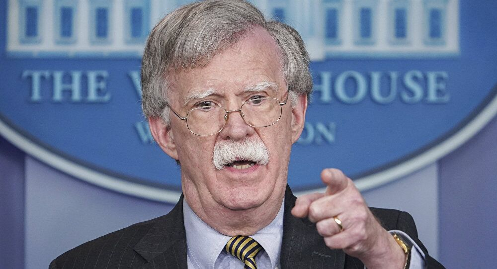 美国总统坦然顾问博尔顿