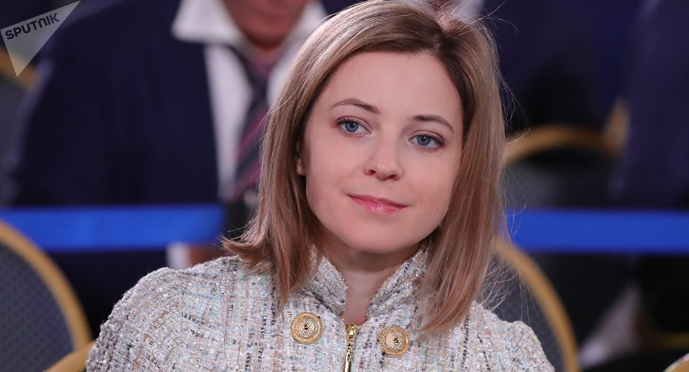波克隆斯卡娅(图源:俄罗斯卫星通讯社)