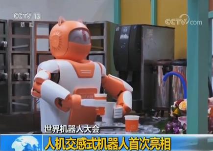 2018世界机器人大会:人机交感式机器人首次亮相