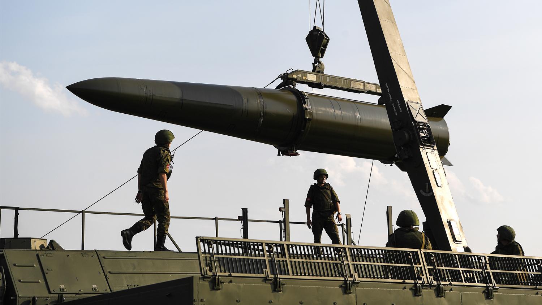 俄罗斯装备的伊斯坎德尔导弹