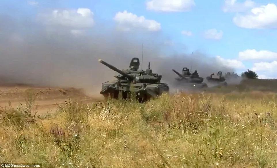 俄羅斯辦冷戰后最大規模軍演,釋放了哪些信號?