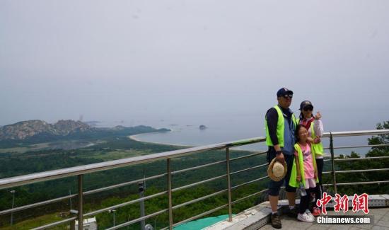 資料圖:朝鮮境內的金剛山。中新社記者 曾鼐 攝