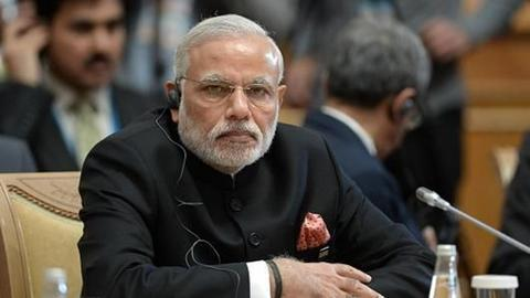 资料图:印度总理莫迪(图片来源:新华网)
