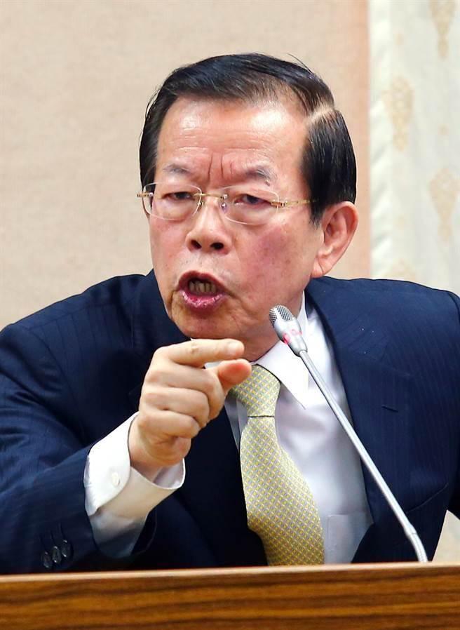 """台政府""""驻日代外""""谢长廷(图片来源:台湾""""中时电子报"""")"""