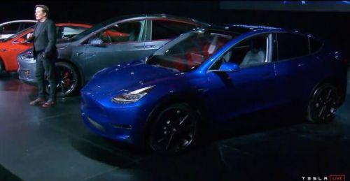 特斯拉发布新车型Model Y 股价盘前跌逾2%