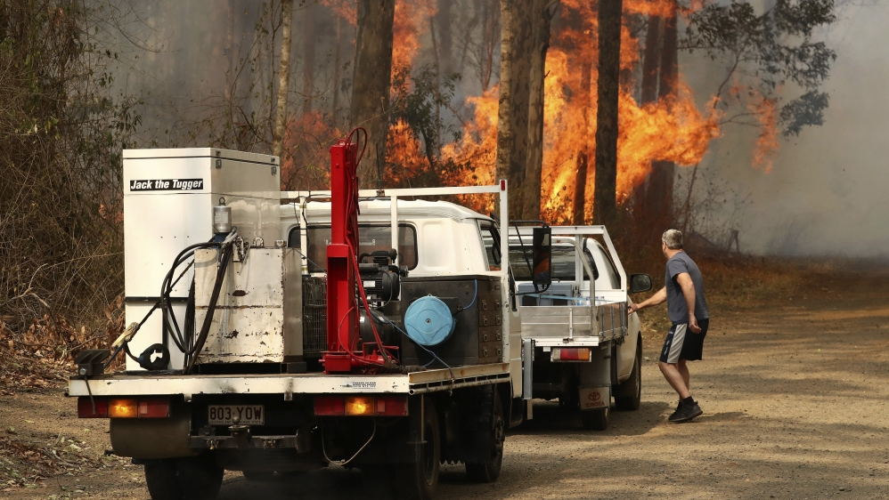 澳大利亚新南威尔士州的大火(半岛电视台)
