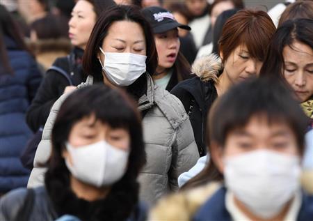 赴日游��心:日本流感大爆�l 患者��222�f史上最高