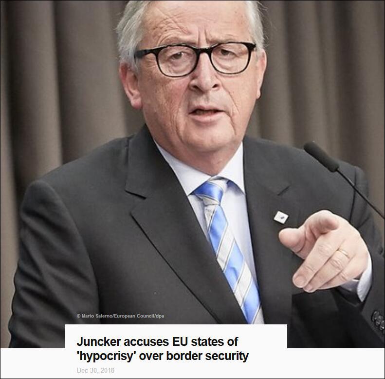 """欧洲国家的""""伪善"""" 连欧盟主席也看不下去了"""