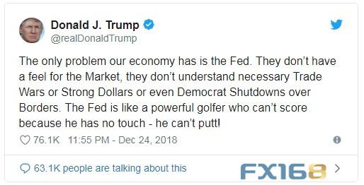 特朗普欲口头打压美元汇率 专家:他不会