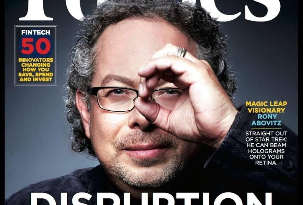 曾经登上福布斯封面的Magic Leap CEO Rony Abovitz