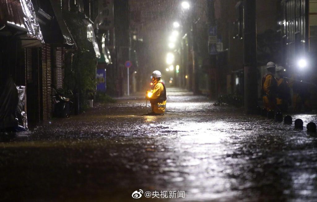 """【蜗牛棋牌】超强台风""""海贝思""""已在日本造成19人死亡(图)"""