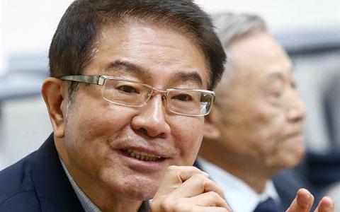 海基会前董事长洪奇昌。(图片来自台媒)