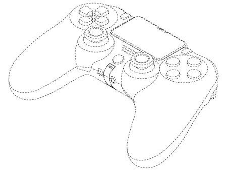 索尼新一代DualShock 5手柄專利圖曝光,將與PS5新機一同發布
