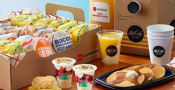 Mcdonald's breakfast catering