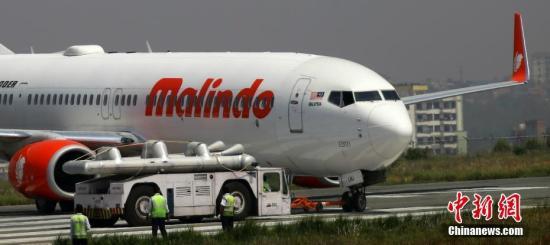 资料图:马印航空公司(Malindo Air)客机。 中新社记者 张晨翼 摄