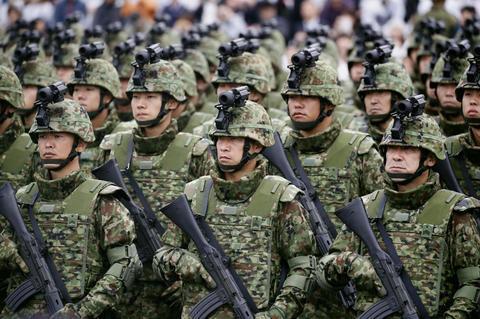 日本陆上自卫队(共同社)