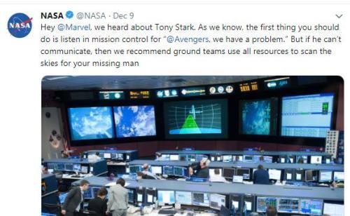 图片来源:NASA官方外交媒体截图。