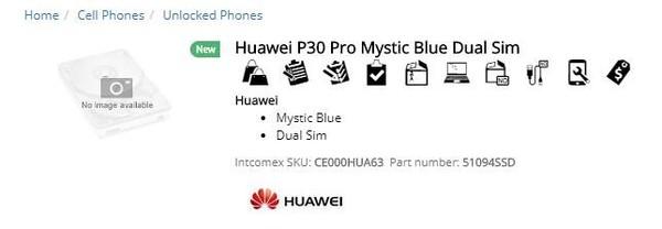 华为P30 Pro新配色曝光 微博视频出现紫色与蓝色的海浪